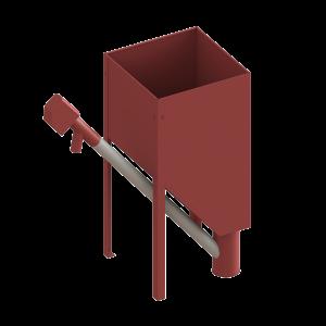 træpille silo